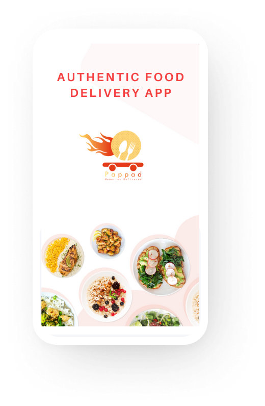 Pappad Authentic food delivery app